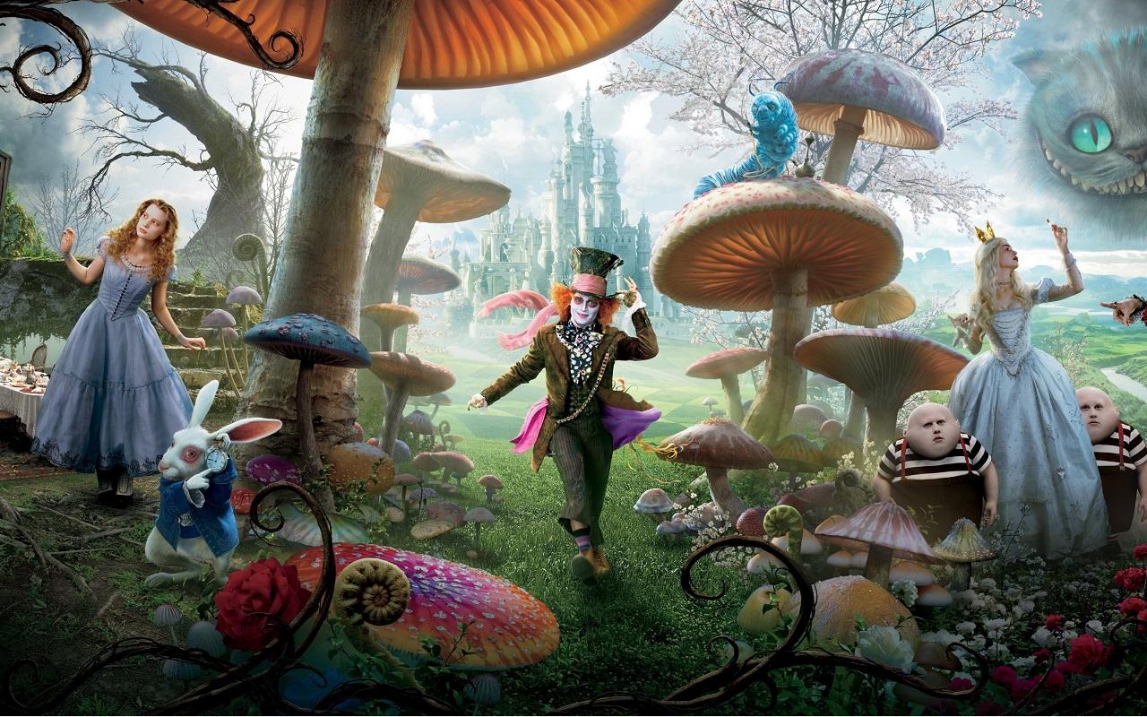 Alice i Spegellandet 1